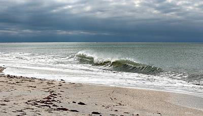 Photograph - Dark Sky Nokomis Beach by Barbara Chichester