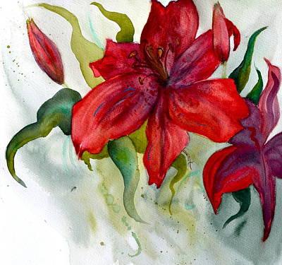 Dark Stars Detail Original by Beverley Harper Tinsley