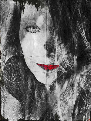 Self-portrait Photograph - Dark Thoughts by Linda Sannuti