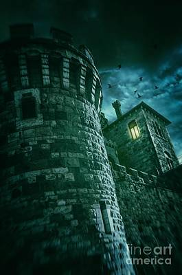 Haunted Mansion Photograph - Dark Tower by Carlos Caetano