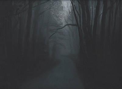 Pastel - Dark Trail by Stacy Williams