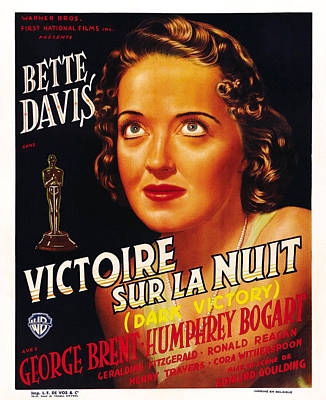 Dark Victory, Aka Victoire Sur La Nuit Art Print by Everett