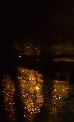 Photograph - Dark Walking by Peri Craig