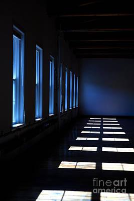 Dark Windowed Room Art Print by Diane Diederich