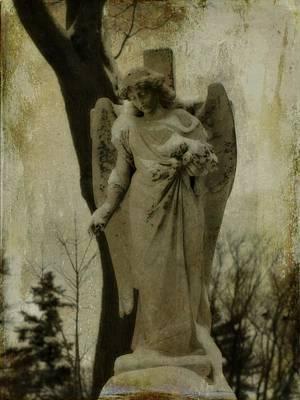 Dark Winter Day Print by Gothicolors Donna Snyder