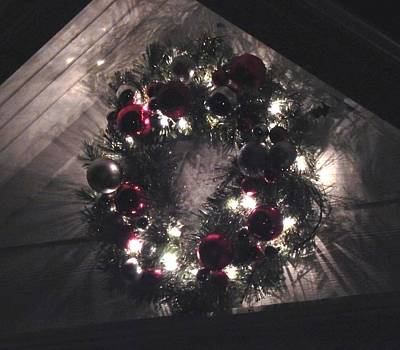 Photograph - Dark Wreath by Wild Thing