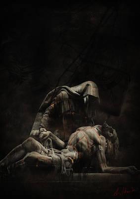 Darkdraw2 Print by Sven  Boeck