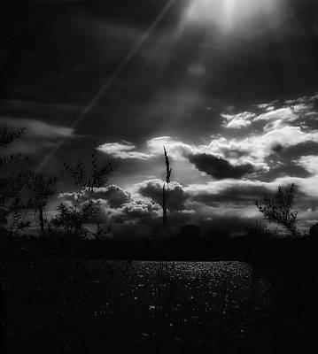 Photograph - Darkest Before The Dawn by Donna Blackhall