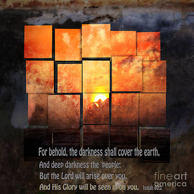 Isaiah Digital Art - Darkness Covers The Earth by Beverly Guilliams