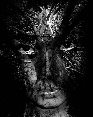 Photograph - Darkness by Jodie Marie Anne Richardson Traugott          aka jm-ART