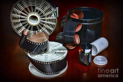 Darkroom Film Developing Art Print by Paul Ward