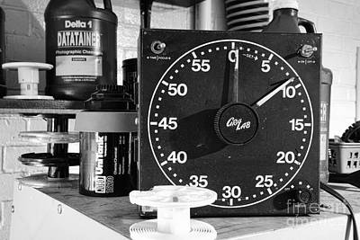 35mm Photograph - Darkroom Timer by Paul Ward