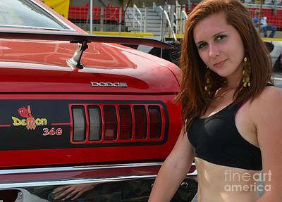 Photograph - Darling Dodge Demon by Mark Spearman