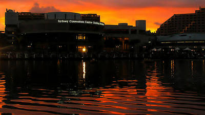 Photograph - Darling Harbour Evening by David Rich