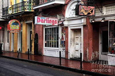 Darlings Of New Orleans Print by John Rizzuto