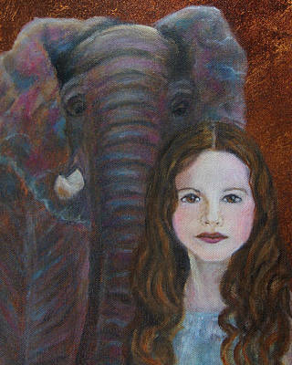 Painting - Darra  Little Angel Of                                    Feminine Wisdom And Understanding by The Art With A Heart By Charlotte Phillips