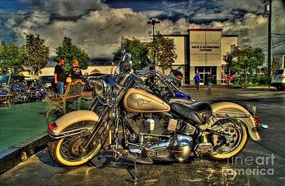 Darrell Keller Memorial Bike Rally Art Print