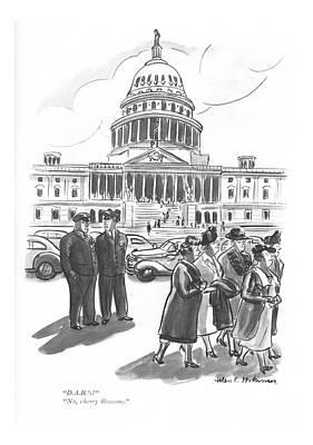 D.a.r.'s?  No Art Print by Helen E. Hokinson