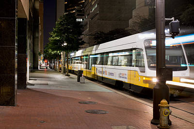 Photograph - Dart Light Rail Lights 020915 by Rospotte Photography