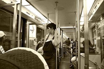 Photograph - Dart Rail Passenger by Charles Beeler