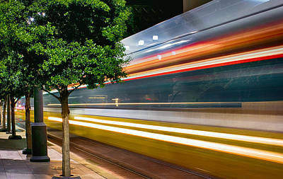 Photograph - Dart Train Dallas For Iphone 020515 by Rospotte Photography