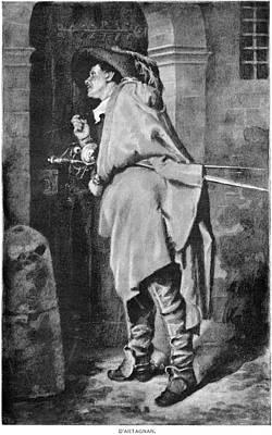 D'artagnan Art Print