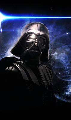 Photograph - Darth Vader by Aaron Berg