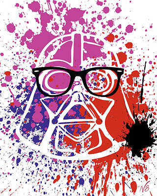 Darth Vader Corrective Lenses Art Print by Decorative Arts