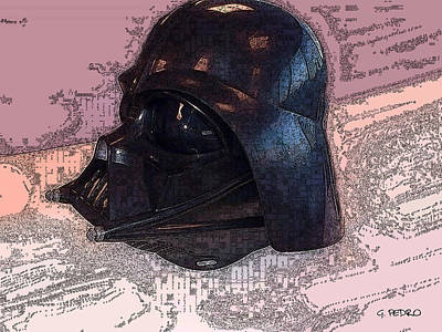 Painting - Darth Vader Lives by George Pedro