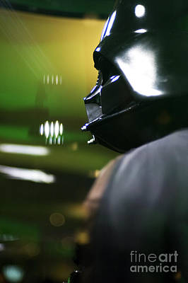 Skywalker Photograph - Darth Vader by Micah May