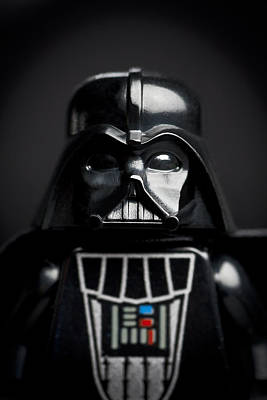 Toys Photograph - Darth Vader by Samuel Whitton