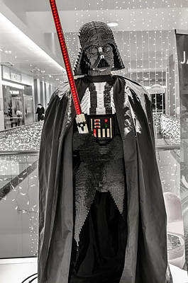Roleplaying Photograph - Darth Vader. by Slavica Koceva