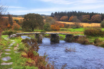 Dartmoor Photograph - Dartmoor - Postbridge by Joana Kruse