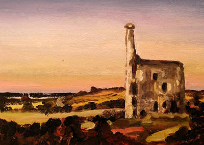 Bleak House Painting - Dartmoor by Paul Mitchell