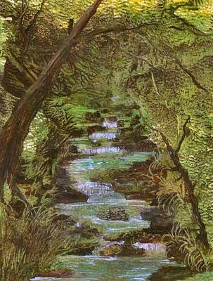 Dartmoor River Art Print by Carol Rowland