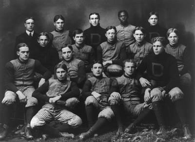 Photograph - Dartmouth Football Team by Celestial Images