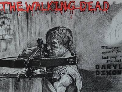 Daryl Dixon On The Hunt Original