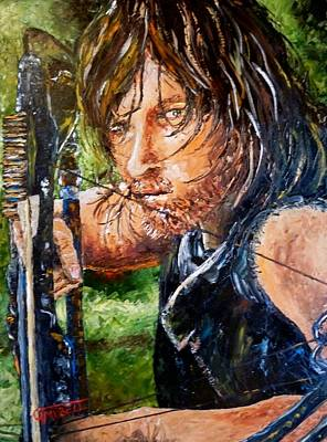 Daryl Art Print by Terry Campbell
