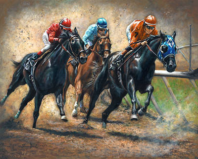 Dash For Cash Original by Donna  Hillman Walsh