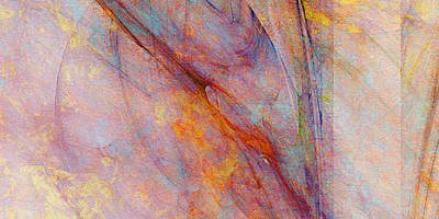Dash Of Spring - Abstract Art Art Print