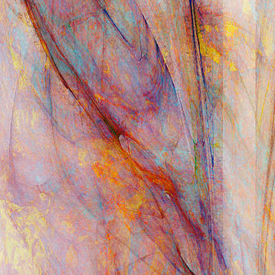 Mixed Media - Dash Of Spring II - Abstract Art by Jaison Cianelli