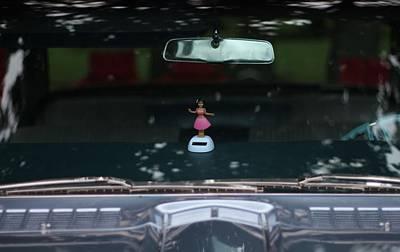 Photograph - Dashboard Hula Girl by Dan Sproul