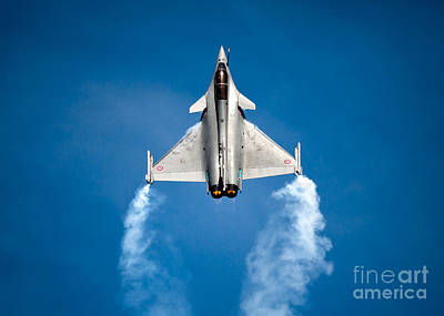 Photograph - Dassault Rafale by Rastislav Margus
