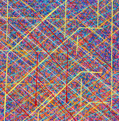 Painting - Data Structure by Patrick OLeary