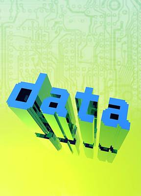 Data Photograph - Data by Victor Habbick Visions