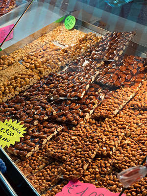 Food Stores Photograph - Dates And Other Sweets For Sale by Panoramic Images