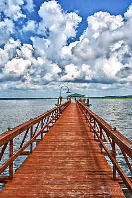 Photograph - Daufuskie Pier by Renee Sullivan