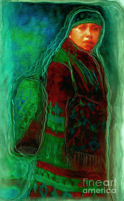 Abenaki Wall Art - Mixed Media - Daughters Of The Dawn by FeatherStone Studio Julie A Miller