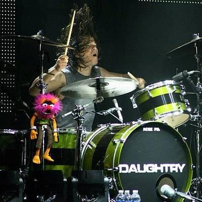 Concert Photograph - Daughtry Concert! #daughtry  #concert by Julia Gartsman