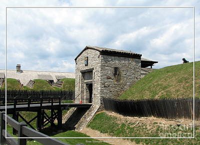 New York State Photograph - Dauphin Battery And Gate Of The Five Nations Old Fort Niagara by Rose Santuci-Sofranko